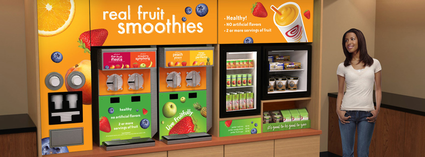 Vending Machines Get A Revamp