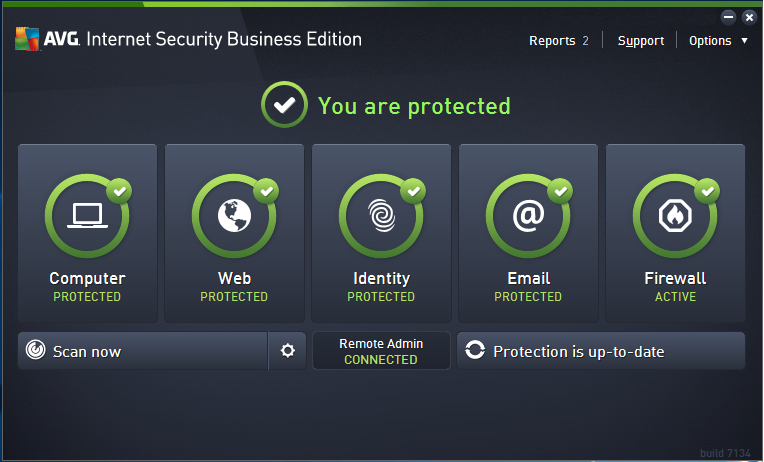 AVG Internet Security Edition_user interface